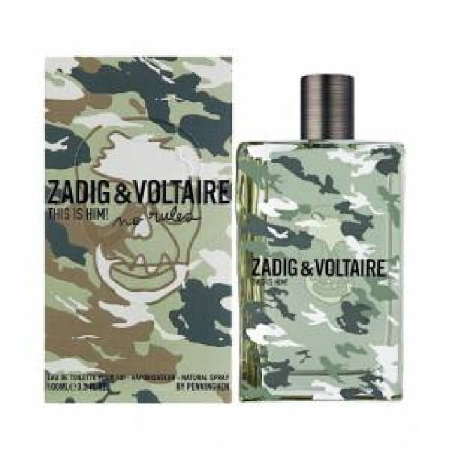 Zadig Voltaire No Rules Capsule Erkek Edt 50ML