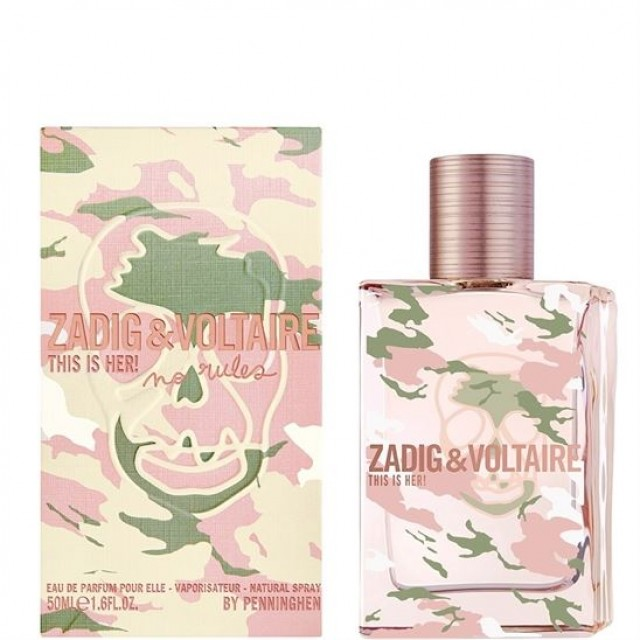 Zadig Voltaire No Rules Capsule Bayan Edp 50ML
